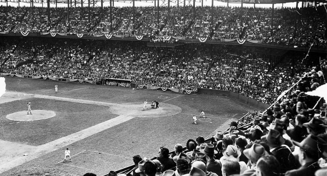 Game One of the 1944 World Series