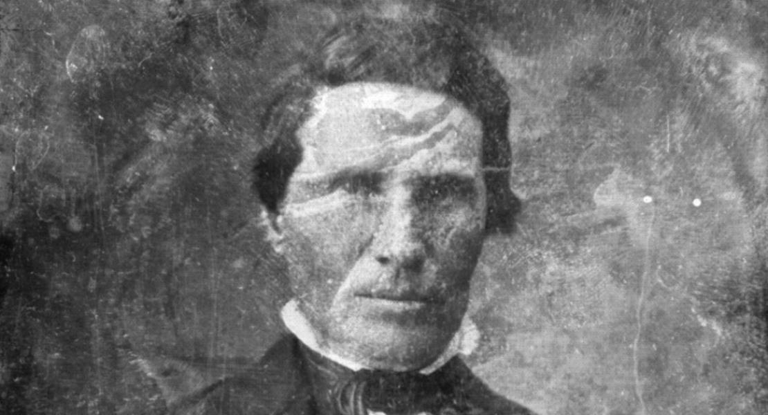 An early daguerreotype of Alexander Doniphan.
