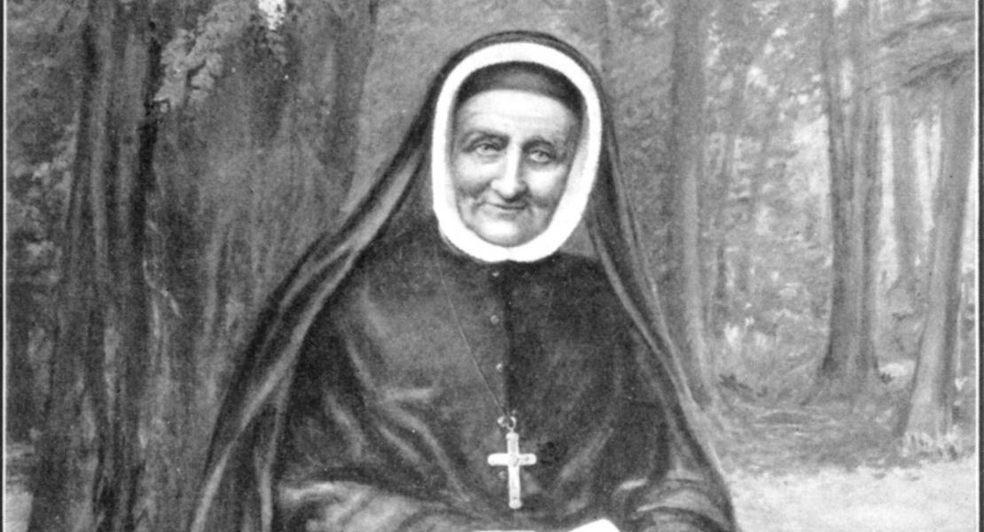 1.	This lithograph depicts Sister Rose Philippine Duchesne late in life. No known photographs of Sister Duchesne are known to exist.