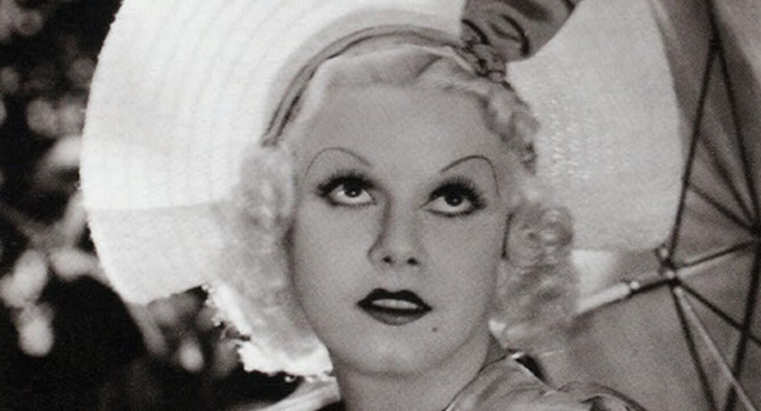 Jean Harlow in a publicity photo. [New York Public Library Digital Collections, Billy Rose Theatre Collection Photograph File, ID# TH-190010]