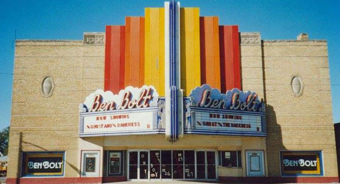 The Ben Bolt Theatre. [Courtesy of Danny Knouse]