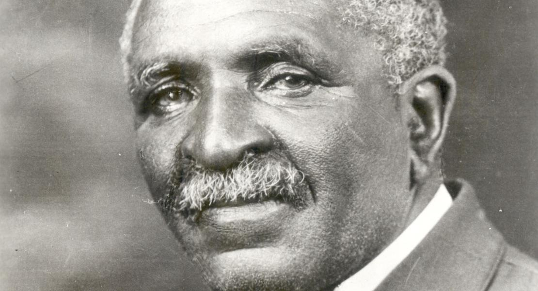 George Washington Carver. [Courtesy of Tuskegee University Archives]