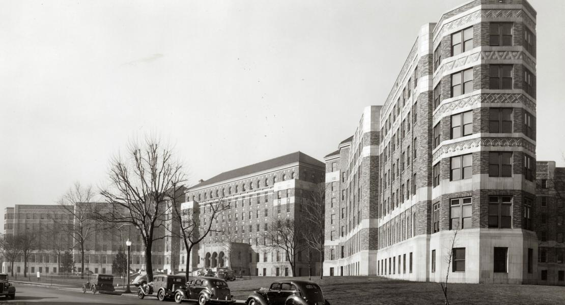 Homer G. Phillips Hospital, circa 1930s. [Missouri Historical Society, St. Louis, Photographs and Prints Collection, N22477]
