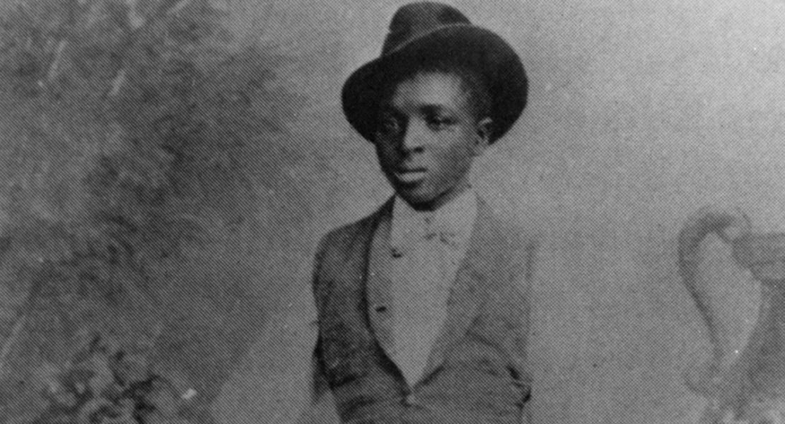 Carver as a child in Neosho, Missouri. [Courtesy of Tuskegee University Archives]