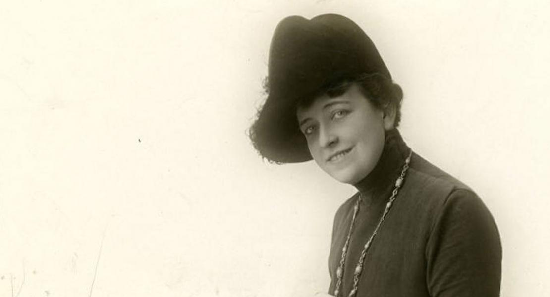 Jane Darwell in a photo taken in 1918. [University of Washington Libraries, Special Collections, J. Willis Sayre Collection of Theatrical Photographs, 22471]