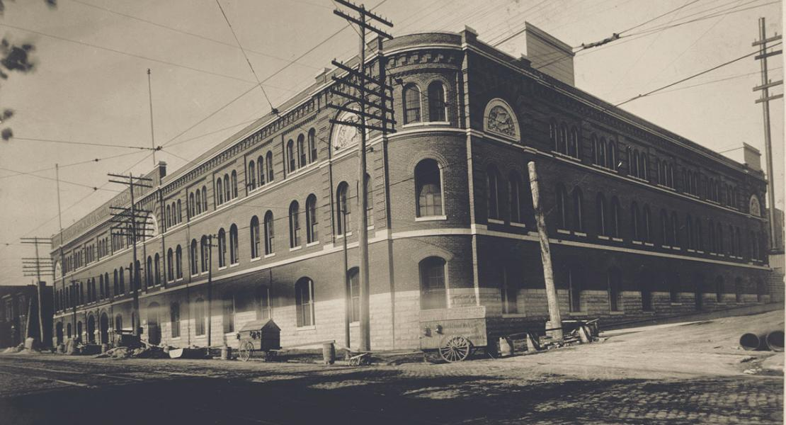 The Lemp Brewery bottling plant at Cherokee Street and Carondelet Avenue