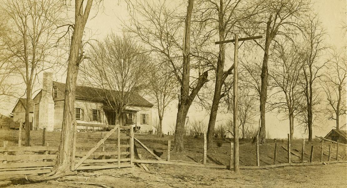 Van Horn Tavern in 1913