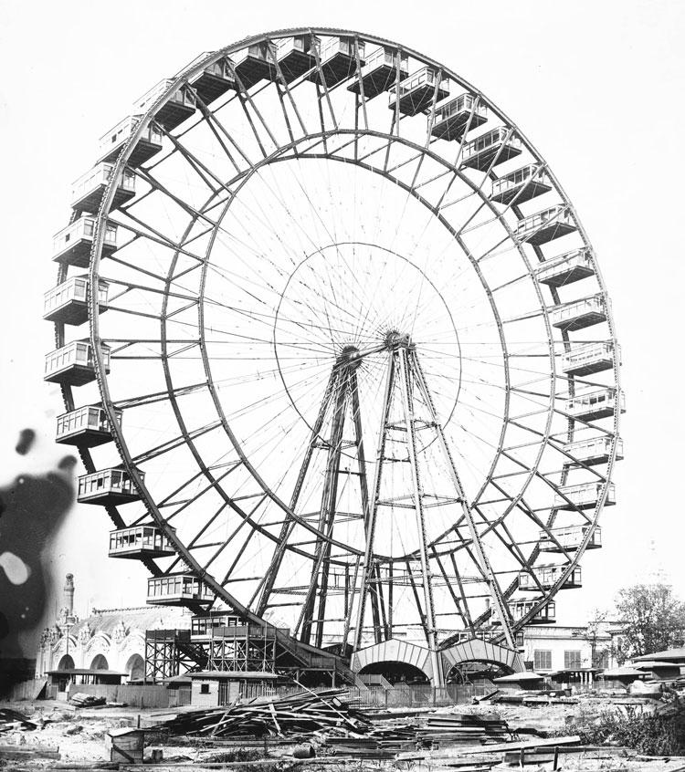1904 World's Fair ferris wheel